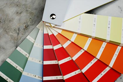Farben machen das Leben bunt