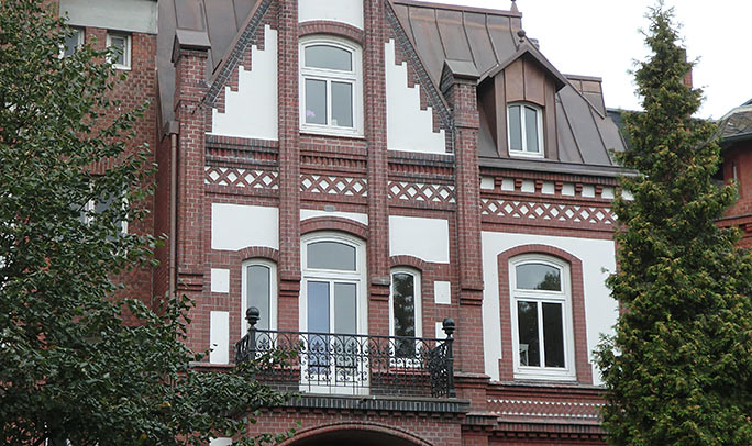Fassaden mit Rath