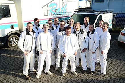 Das Maler-Team der Rath GmbH